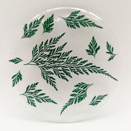 Fern coasters set of two