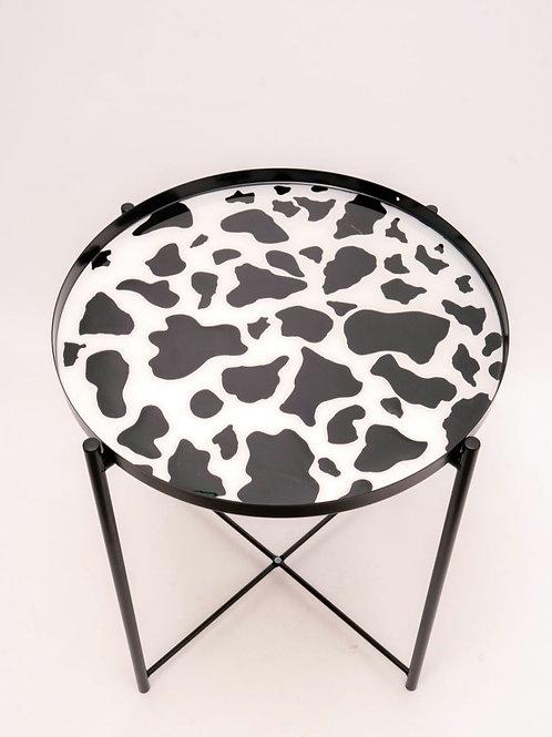 Cow print Table
