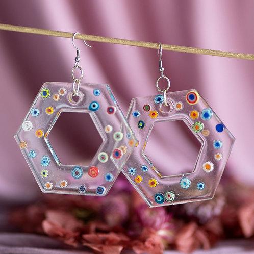funky large earrings