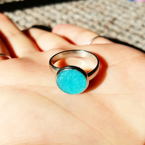 cerulean ring (adjustable)