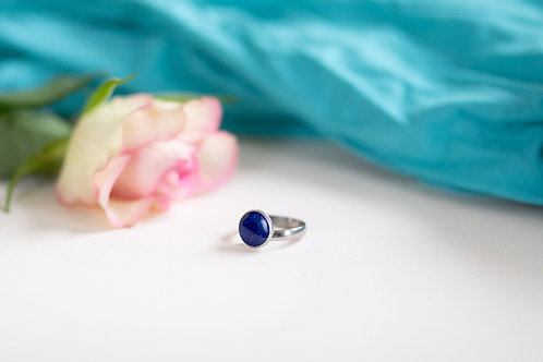 Cerulean rings (adjustable)