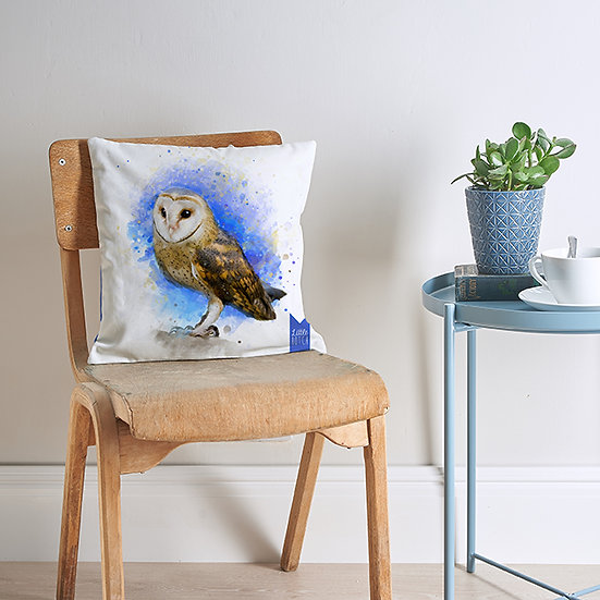Barn Owl cushion
