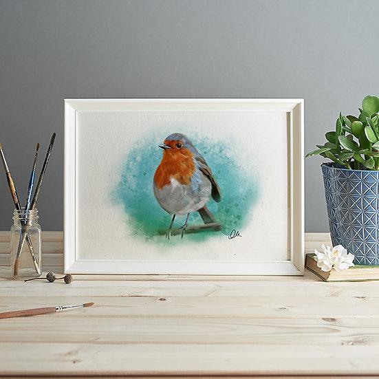 Robin print