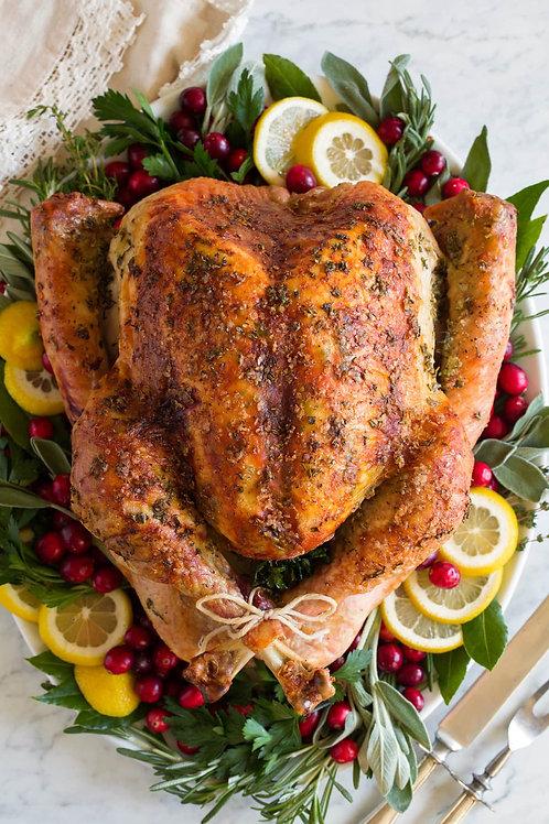 Whole turkey reservation