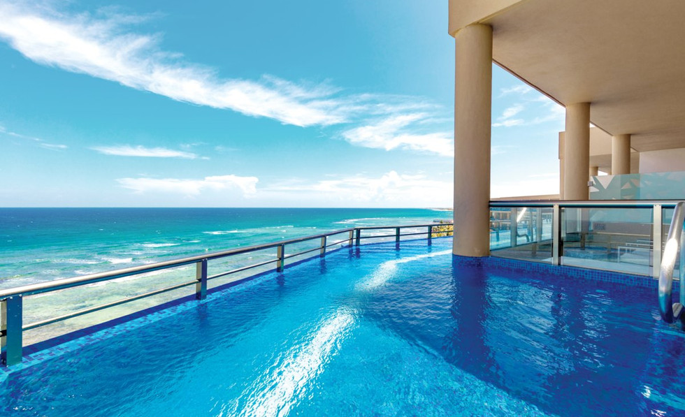 Oceanfront Infinity Pool Balcony View.jf