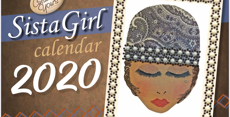 2020 Sista Girl Wall Calendar