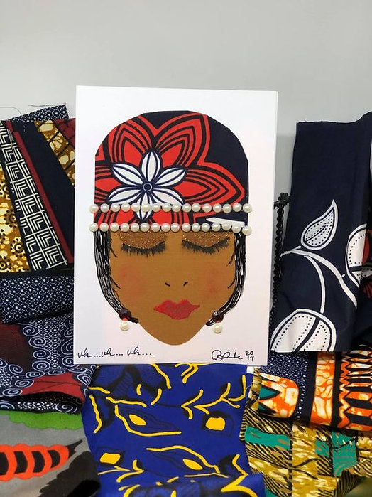 Sista girl greeting cards