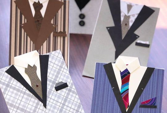 Dapper Dude: Cards for men