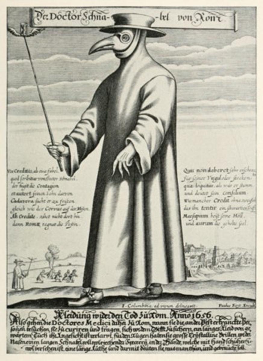 RESİM 06.  1656 Dr. Schnabel von Rum. Pa