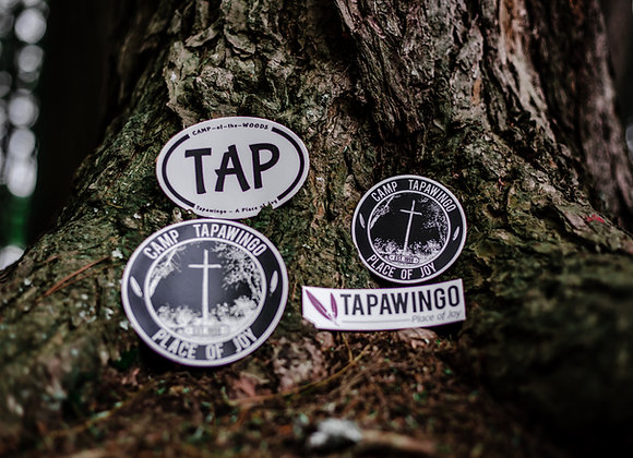 Tapawingo Stickers