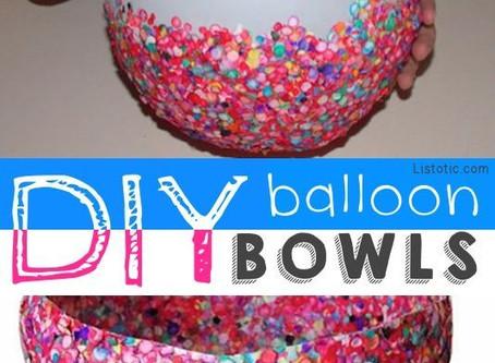 Balloon Bowls and Doughboys