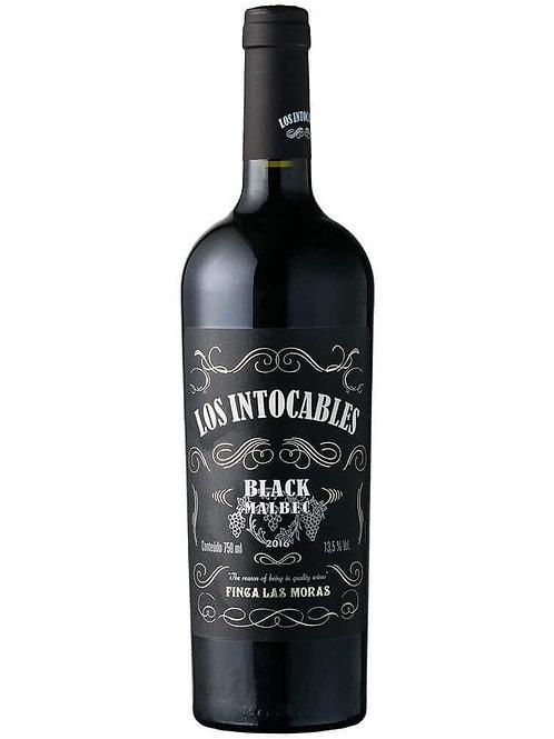 LAS MORAS LOS INTOCABLES BLACK MALBEC (750ML)