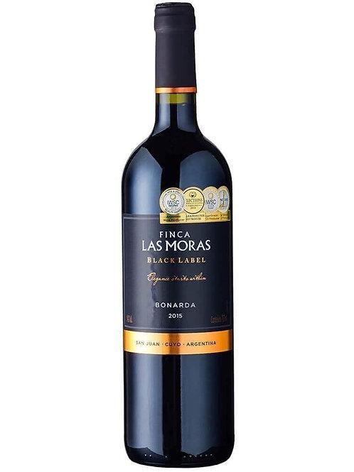 LAS MORAS BLACK LABEL BONARDA (750ML)