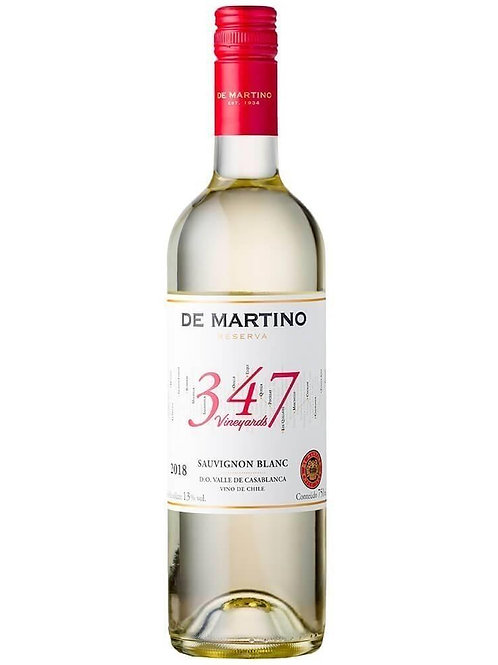 DE MARTINO SAUVIGNON B. RESERVA 347 VINEYARDS (750ML)