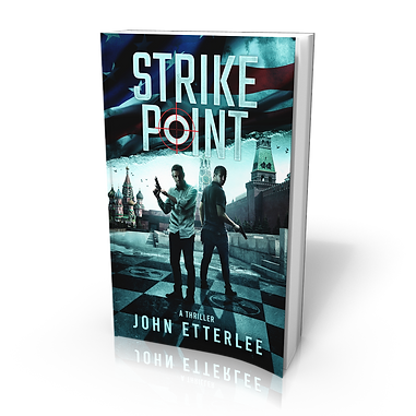 Strike Point, an international spy thriller. Available with Kindle Unlimited.