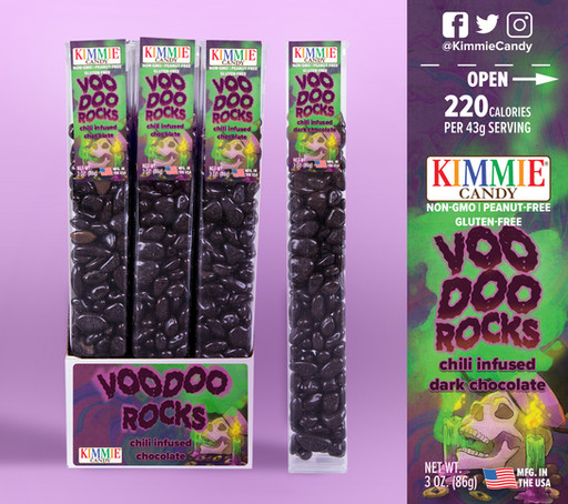 Label design for Kimmie Candy.  Products & Logos © Kimmie Candy