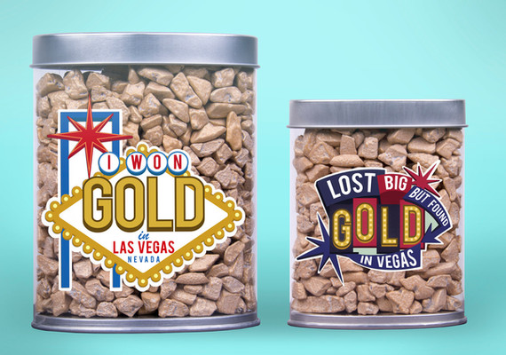 Vegas Themed Labels
