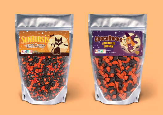 Halloween Label Design