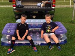 Summer of 2014 - Got our Air Sofa!