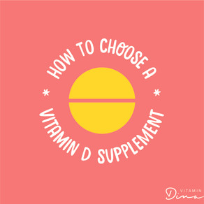 How to choose a vitamin D supplement