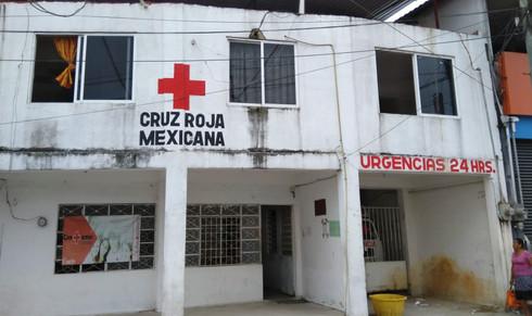 Cruz Roja de Las Choapas se olvida del quirófano que sería construido con donación del Oxxo