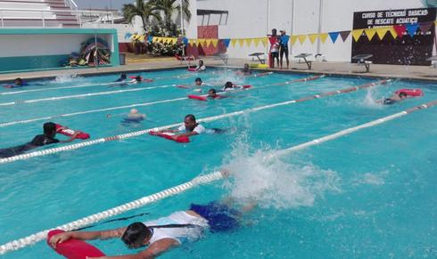 Se prepara Protección Civil para rescates acuáticos en temporada vacacional