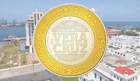 Tendrá Veracruz moneda conmemorativa por 500 años de su fundación