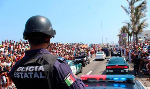 Detiene SSP a 360 personas en Carnaval de Veracruz