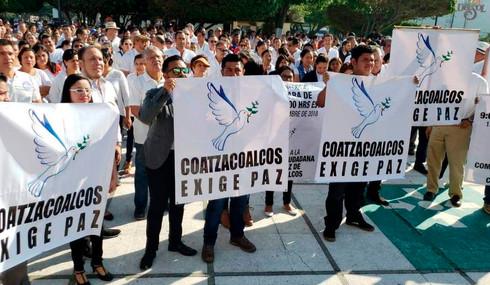 Convocan empresarios a segundo paro laboral para exigir paz en Coatzacoalcos