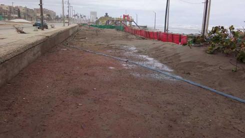 Prepara Ayuntamiento proyecto para detener la arena del mar