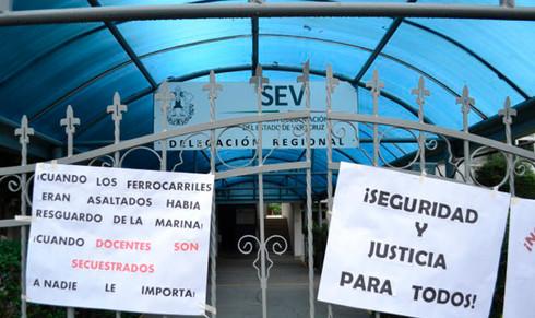 Fiscalía no investiga secuestro de docentes: titular de la SEV