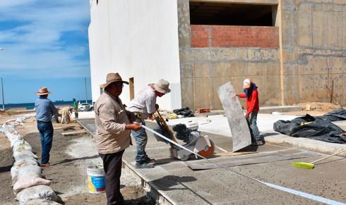 Faltan por inaugurar al menor 40 obras del 2018 en Coatzacoalcos