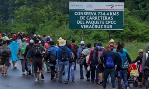 Vigilarán a Caravana Migrante ante posible entrada de grupos delictivos infiltrados
