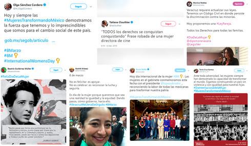 Funcionarias públicas conmemoran 'Día de la Mujer', piden seguir la lucha por la igualdad