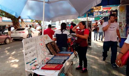Regulariza comercio en un 60 por ciento ambulantaje en Coatzacoalcos