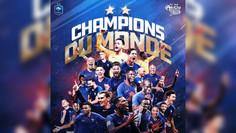 Francia es campeón del mundo por segunda vez en su historia