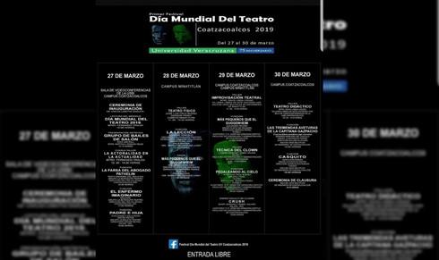 UV te invita al 'Festival de Teatro' en Minatitlán y Coatzacoalcos
