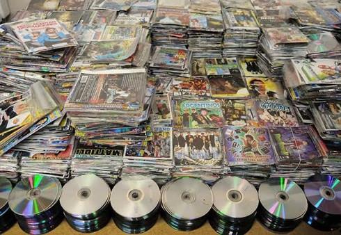 Dirección de Comercio no confisca discos pirata ni dvd