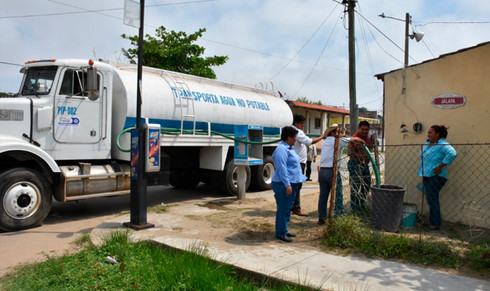 Ayuntamiento mantiene plan emergente para restablecer suministro de agua