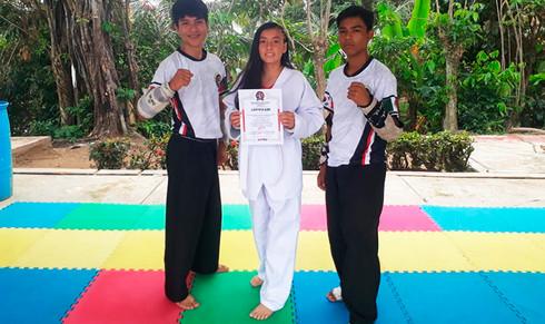 Impartirá DIF clases gratuitas de Taekwondo en el ejido Colorado