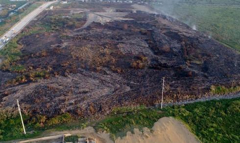 Quedó sofocado incendio de la colonia Santa Rosa