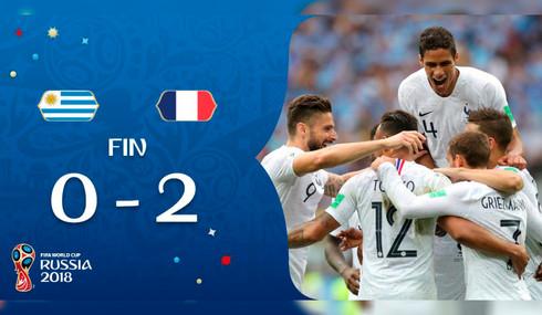 Francia, primer semifinalista de Rusia 2018