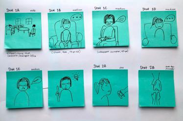 Storyboard Draft 2, Pg 1