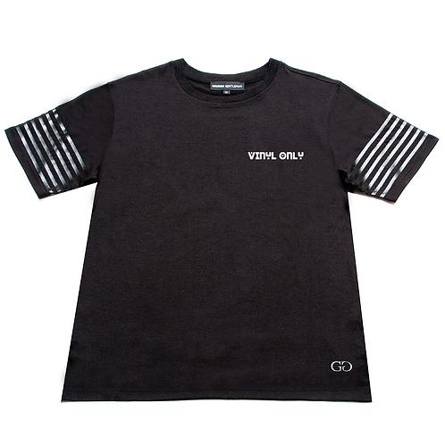 VINYL ONLY - DESIGNER T-SHIRT - Black on Black