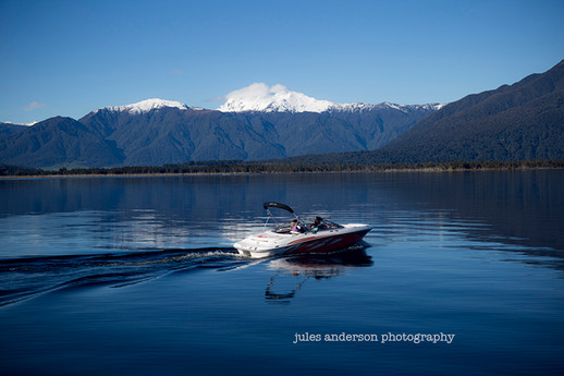 Lake Brunner jetboat