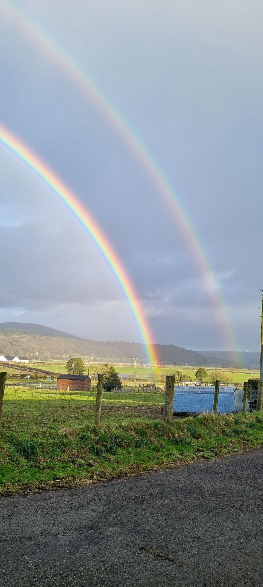 Somewhere over the rainbow....