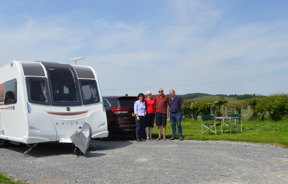 CARAVAN AND MOTORHOME SITE NOW OPEN!