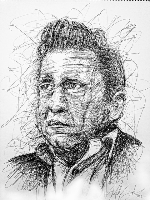Johnny Cash One Stroke