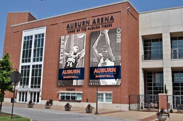 Auburn Arena - Large Banner Design