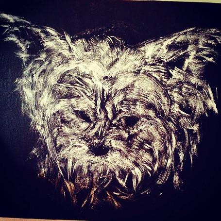 Dog   Acryllic